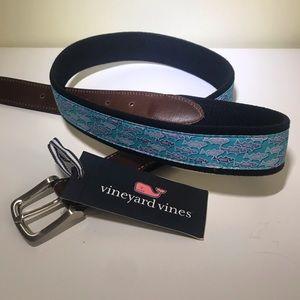Vineyard Vines STRIPED BASS Men's Belt Size 38
